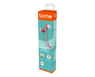 Ausinės ACME HE21R įstatomos į ausis, su mikrofonu