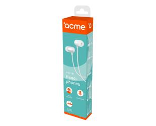 Ausinės ACME HE21W įstatomos į ausis, su mikrofonu