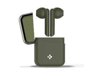 Ausinės MyKronoz TWS with charging case ZeBuds įstatomos į ausis, belaidės, su mikrofonu