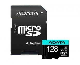 Atminties kortelė ADATA Premier Pro UHS-I U3 128GB Micro SDXC CL10 su SD adapteriu