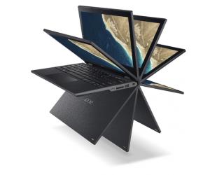 """Nešiojamas kompiuteris Acer TravelMate Spin B1 Black 11.6"""" TOUCH IPS N5000 4GB 128GB SSD Windows 10 Pro"""