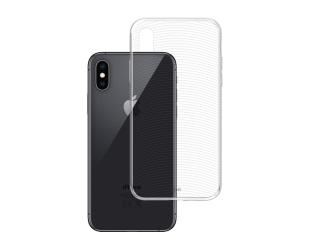 Dėklas 3MK Armor, Apple, iPhone XS Max, TPU, Skaidrus