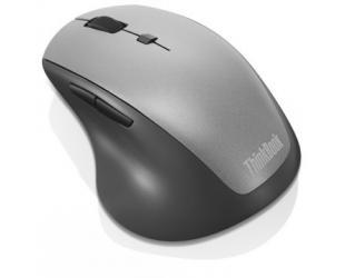 Belaidė pelė Lenovo ThinkBook 600 Wireless Media Mouse 4Y50V81591 Optical mouse, Black, Wireless, Wireless connection