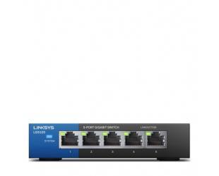 Komutatorius (Switch) Linksys LGS105 Unmanaged