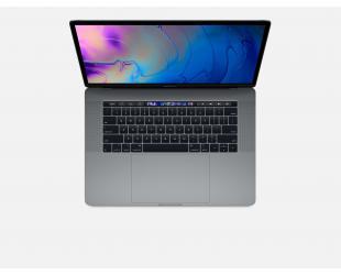 "Nešiojamas kompiuteris Apple MacBook Pro Retina with Touch Bar Space Gray 15.4"" IPS i7 16GB 256GB SSD Radeon Pro 555X 4 GB MacOS High Sierra"