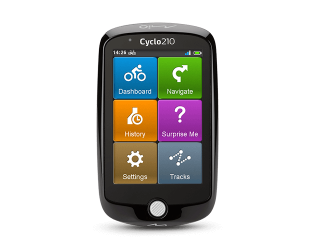 """GPS navigacija dviračiams Mio Cyclo 210 3.5"""" (8,9 cm)"""
