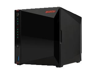 Diskų masyvas Asus Asustor Nimbustor 4 AS5304T up to 4 HDD/SSD, Intel Celeron J4105 Quad-Core, Processor frequency 1.5 GHz, 4 GB, SO-DIMM DDR4 2400, Single, Black