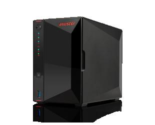 Diskų masyvas Asus Asustor Nimbustor 2 AS5202T up to 2 HDD/SSD, Intel Celeron J4005 Dual-Core, Processor frequency 2.0 GHz, 2 GB, SO-DIMM DDR4 2400, Single, Black