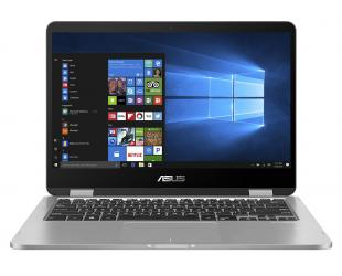 "Nešiojamas kompiuteris Asus VivoBook Flip TP401MA-EC054T Light Grey 14"" FHD N5000 4GB 128GB SSD Windows 10"
