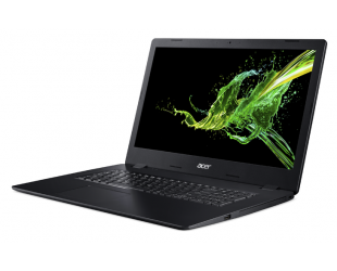 "Nešiojamas kompiuteris Acer Aspire 3 A317-51K Black 17.3"" i3-7020U 4GB 1TB Windows 10"