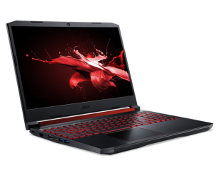 "Nešiojamas kompiuteris Acer Nitro 5 AN515-54 Black 15.6"" IPS FHD i7-9750H 16GB 512GB SSD NVIDIA GeForce 1650 4 GB Windows 10"