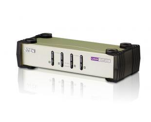 Komutatorius Aten 4-Port PS/2-USB VGA KVM Switch