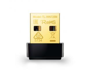 Wifi adapteris TP-LINK Nano USB 2.0 Adapter TL-WN725N 2.4GHz, 802.11n, 150 Mbps, Internal antenna