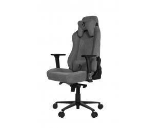 Žaidimų kėdė Arozzi Vernazza Soft Fabric, Ash