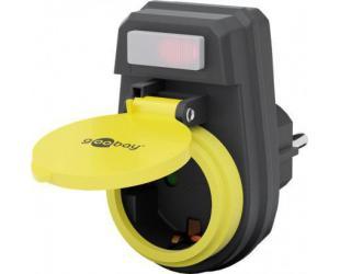 El. adapteris Goobay 41266 tinkmas naudoti lauke