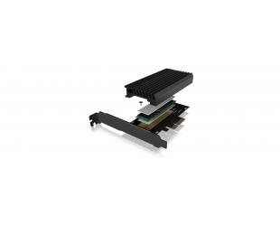 Kortelių skaitytuvas Icy Box IB-PCI214M2-HSL PCIe extension card