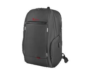 """Kuprinė Genesis Laptop  Pallad 400 156"""" Black Waterproof"""