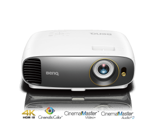 Projektorius Benq W1720 4K UHD (3840 x 2160), 2000 ANSI lumens, 10.000:1, White