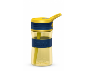 Gertuvė Boddels EEN, Night blue/Yellow, tūris 0.4 L, skersmuo 7.5 cm, pagaminta be BPA