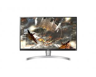 "Monitorius LG 27UL650-W 27"", IPS, 4K UHD, 16:9, Anti glare, 3H, 5 ms, 350 cd/m², Silver, 3840 x 2160"