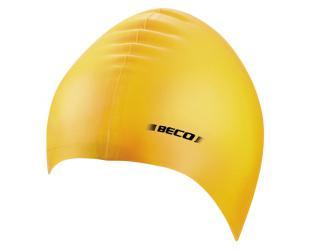 BECO Silicone swimming cap 7390 2 yellow