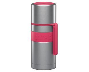 Termosas Boddels HEET Raspberry red, tūris 0.35 L, skersmuo 7.2 cm, pagaminta be BPA