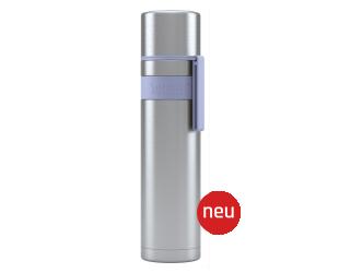Termosas Boddels HEET, Lavender blue, tūris 0.7 L, skersmuo 7.2 cm, pagaminta be BPA