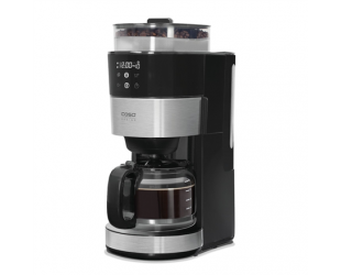 Kavos aparatas Caso Coffee machine with grinder Grande Aroma 100 Drip, 1000 W, Black