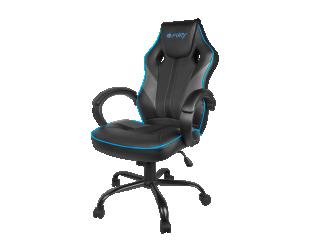 Žaidimų kėdė Fury Avenger M, Black/Grey/Blue