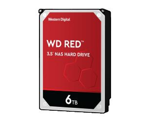 Standusis diskas Western Digital NAS Hard Drive WD Red 5400 RPM, 6000 GB
