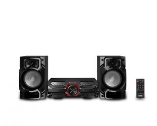 Muzikinis centras Panasonic SC-AKX320E-K, CD, bluetooth, AUX in