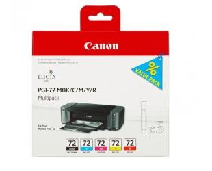 Rašalo kasetė Canon PGI-72, Multipack