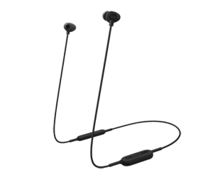 Ausinės Panasonic RP-NJ310BE-K įstatomos į ausis, belaidės