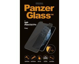 Ekrano apsauga PanzerGlass P2661 Apple, iPhone X/Xs/11 Pro, grūdintas stiklas, skaidrus, su privatumo filtru