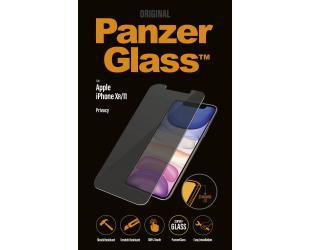 Ekrano apsauga PanzerGlass P2662 Apple, iPhone Xr/11, grūdintas stiklas, skaidrus, su privatumo filtru