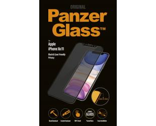 Ekrano apsauga PanzerGlass P2665 Apple, iPhone Xr/11, Tempered glass, Black, Case friendly with Privacy filter
