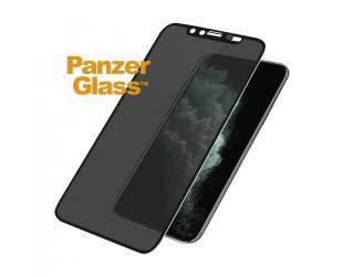 Ekrano apsauga PanzerGlass P2669 Apple, iPhone Xs Max/11 Pro Max, grūdintas stiklas, Juoda, netrukdantis dėklui with CamSlider and Dual Privatumo filtras filter