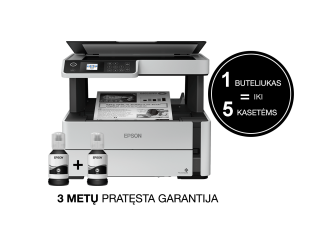 Rašalinis daugiafunkcinis spausdintuvas Epson 3 in 1 EcoTank M2170