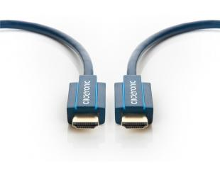 Kabelis Clicktronic Ultra High Speed HDMI Cable 40990 HDMI to HDMI, 2 m