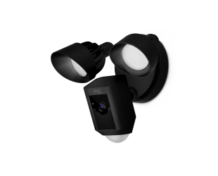 IP kamera Ring Floodlight Camera Motion-activated HD security cam Two-way talk and a Siren alarm Black