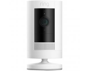 IP kamera Ring 3rd Generation Stick Up Cam Battery 1080 pixels, Indoor/Outdoor, White, Wi-Fi