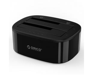 Jungčių stotelė Orico 2.5 / 3.5 inch 2 Bay USB3.0 1 to 1 Clone Hard Drive Dock 228US3-C-EU-BK-BP