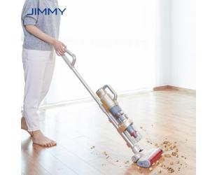 Dulkių siurblys šluota Jimmy Vacuum Cleaner JV71 Cordless operating, Handstick and Handheld, Operating time (max) 45 min, White/Red, Warranty 24 month(s), 12 month(s)