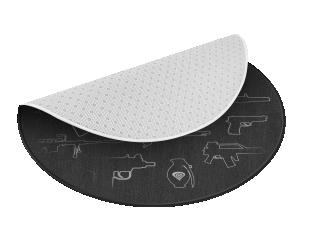 Apsauginis kilimėlis GENESIS Tellur 300 AOG 100cm, Black