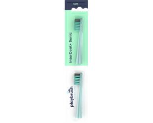 Dantų šepetėlio antgaliai Playbrush Smart One 2 vnt