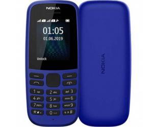 "Mobilus telefonas Nokia 105 TA-1203 Blue, 1.77 "", TFT, 120 x 160 pixels, 4 MB, 4 MB, Single SIM, USB version microUSB, 800 mAh"