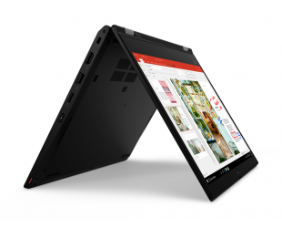 "Nešiojamas kompiuteris Lenovo ThinkPad L13 Yoga Black 13.3"" IPS TOUCH i5-10210U 16GB 512GB SSD Intel UHD Windows 10 Pro"