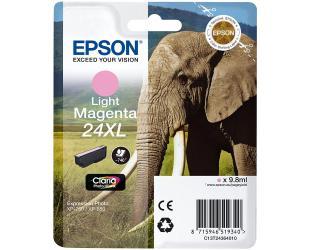 Rašalo kasetė Epson Singlepack Light Magenta 24XL Claria Photo HD Cartrigde, Light Magenta