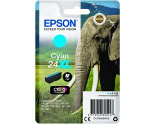 Rašalo kasetė Epson 24XL Claria Photo HD XL, Cyan