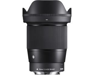 Objektyvas Sigma EF-M 16mm F1.4 DC DN for Canon [Contemporary]